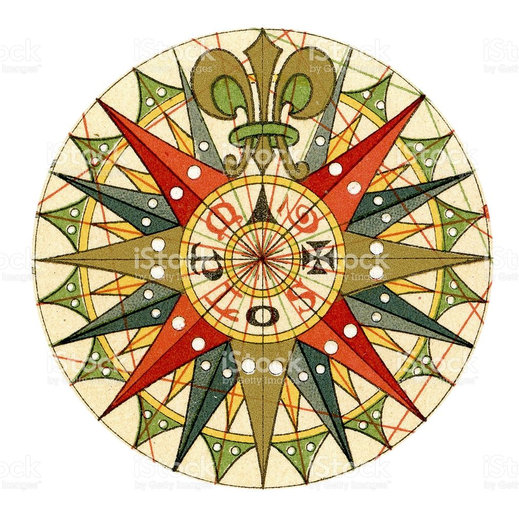 Image result for antique compass rose images | Compass ...