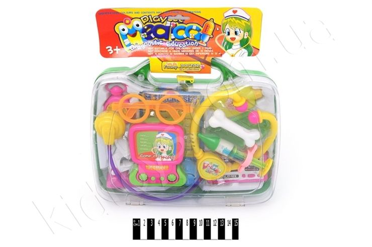 Лікар. набір (футляр) ЗА-959, для детей игрушки, выкройки ...