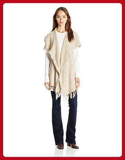 f8e7dc4e613 Kensie Women s Furry Mixed Media Sweater Vest