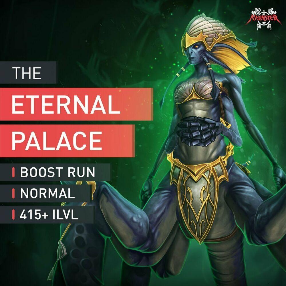 The Eternal Palace Normal Boost Raid Run 8//8 415 ILVL NHC Boosting WoW Norm EU