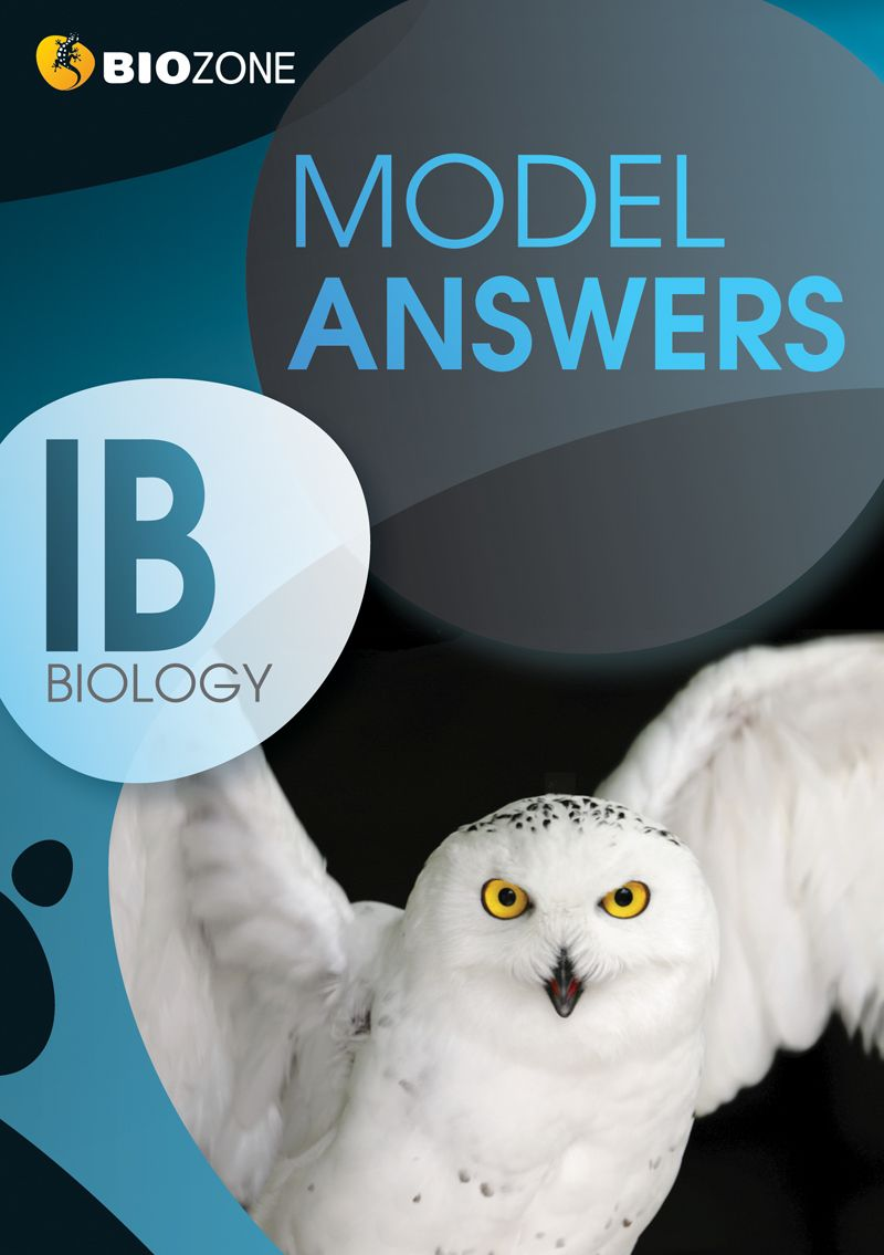 BIOZONE's IB Biology Model Answers. | IB Diploma Biology Resources ...