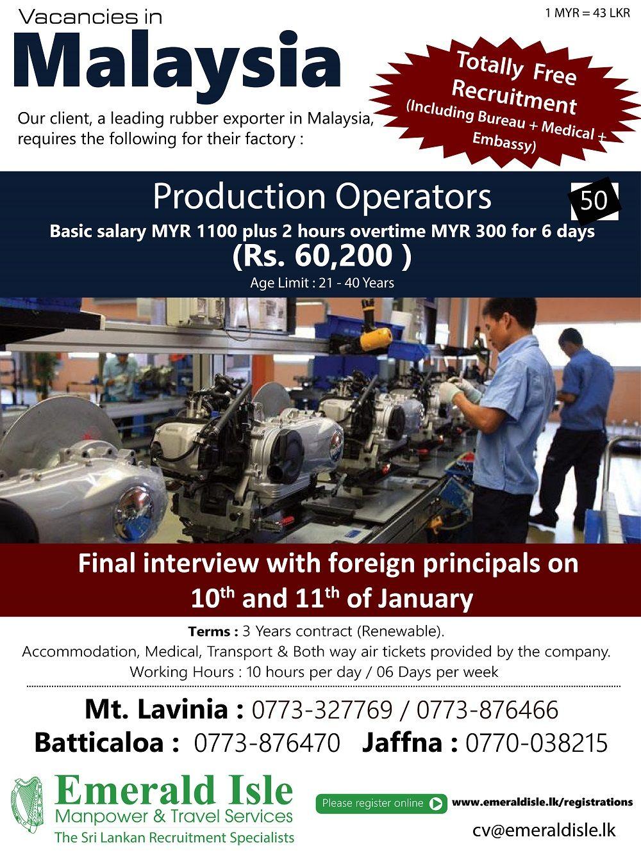 Job Advertisement Malaysia