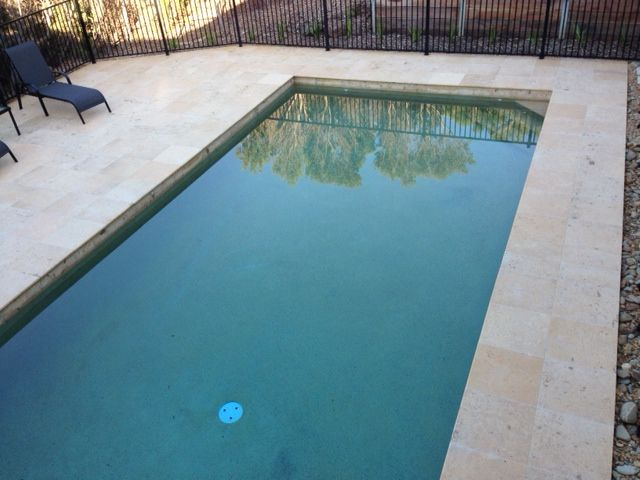 Stone Pool Coping Tiles Provide An Excellent Non Slip Solution For Tiling  Around Swimming Pool Edges.