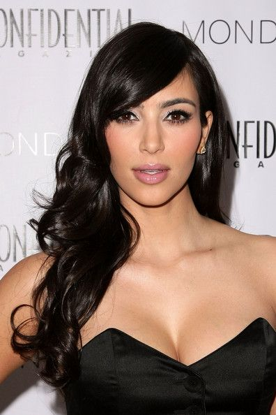 Kim Kardashian Curly Hair Hair Pinterest Hair Styles Hair And