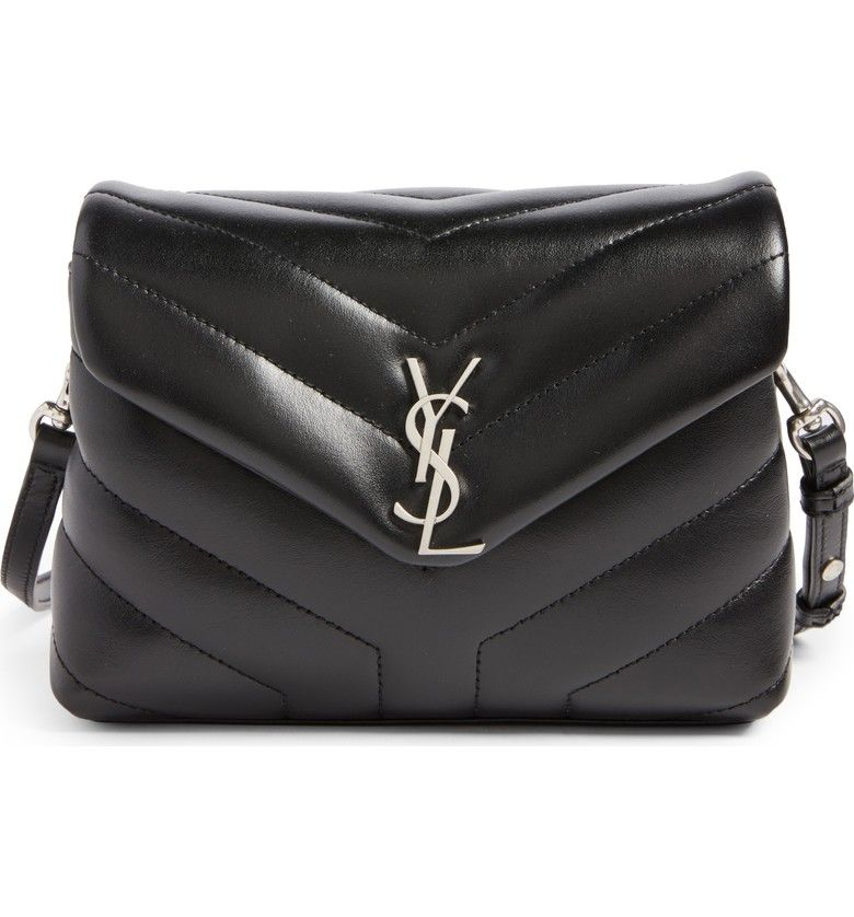 71e67091193c Main Image - Saint Laurent Toy LouLou Calfskin Leather Crossbody Bag ...