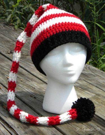 Crochet Christmas Hat Pattern Free Christmas Elf Hat Crochet
