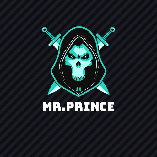 Mr Prince Logo Gaming Logo Art Techno Logo Design Flat Logo Design
