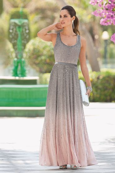 Together Sparkly Beaded Maxi Dress Online Ezi