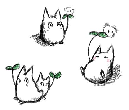 Studio Ghibli Cat Bus Totoro Png, Transparent Png - vhv   372x437