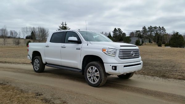 2016 Toyota Tundra Platinum White
