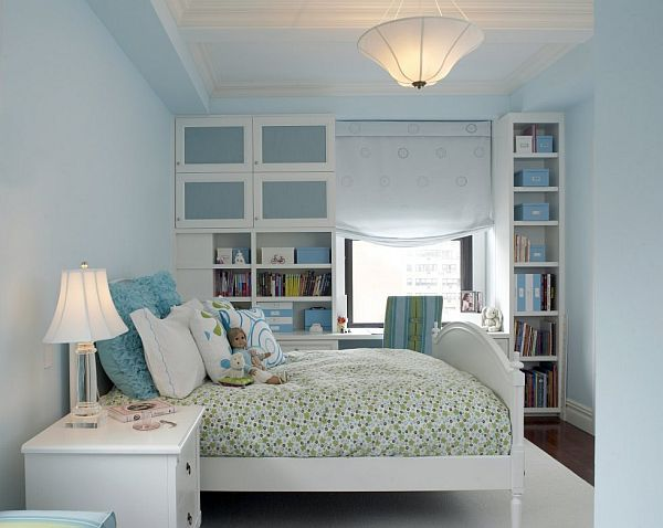 It has long been known that the blue room with white furniture is a great  way to sound insulation and the best ability to bring in an interior room  comfort. Los beneficios del color azul claro en la decoraci n de interiores