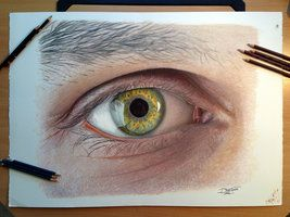 eye color pencil drawing by atomiccircus daniel levy policar
