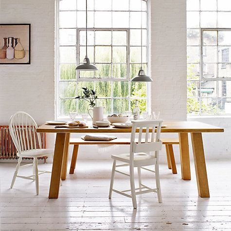 Buy John Lewis Croft Collection Glendale 6 Seater Dining Table Online At Johnlewis