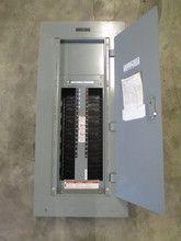 Square D 250 Amp 600y 347 V 3ph 4w Mlo Type Nf Panelboard Nf 250a Breaker Panel Paneling Locker Storage Breaker Panel
