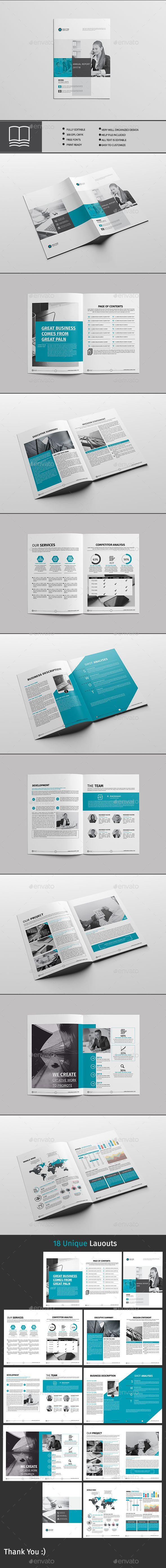 Annual Report 18 Page | Portafolio, Catálogo y Ofertas