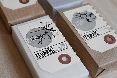 soap & hang tags!