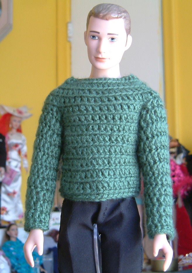 Made one for a male doll too