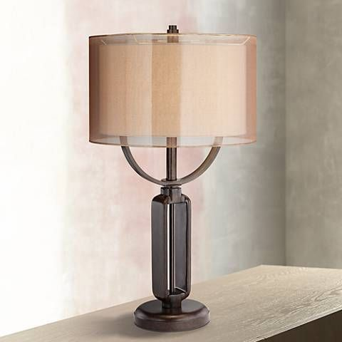 Franklin Iron Works Monroe Industrial Table Lamp 1f533 Lamps