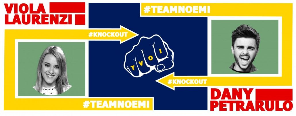 #KnockOut 2 - The Voice of Italy 2015 - #tvoi #ViolaLaurenzi vs #DanyPetrarulo #TeamNoemi