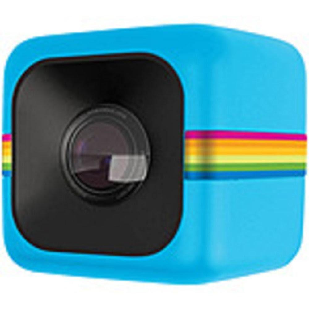 Polaroid POLC3BL Mini Lifestyle Action Video Camera - 6 megapixels - 1.4-inches - HD Digital Video Action - Blue