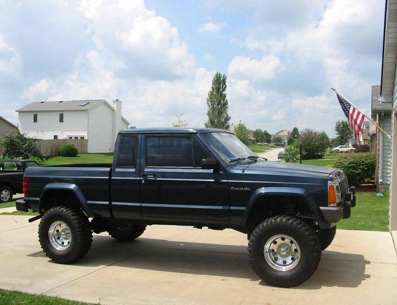 Lifted Jeep Comanche Cherokee Shortening A Comanche Bed