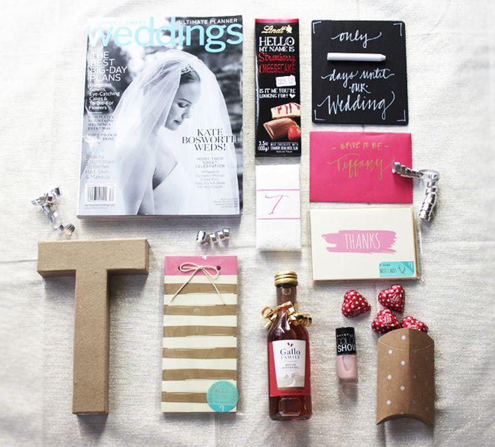 Bridetobe gift baskets from