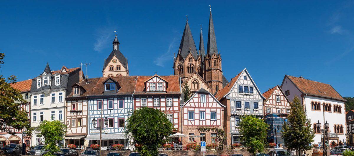Gelnhausen, Spessart, Hessen   Gelnhausen, Schöne orte, Orte