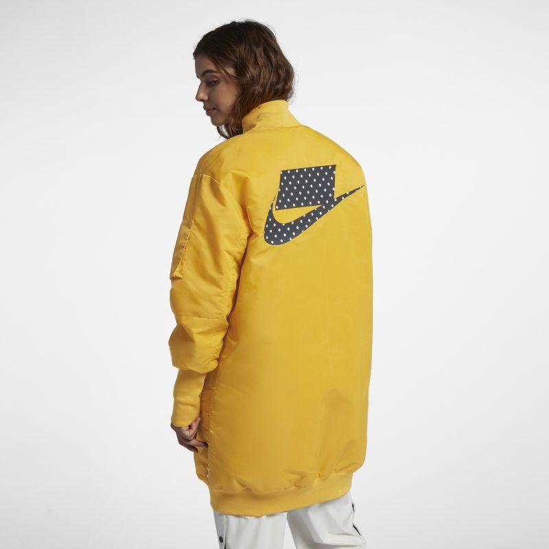 Nike Sportswear NSW Women s Parka - Yellow  321de6ae4
