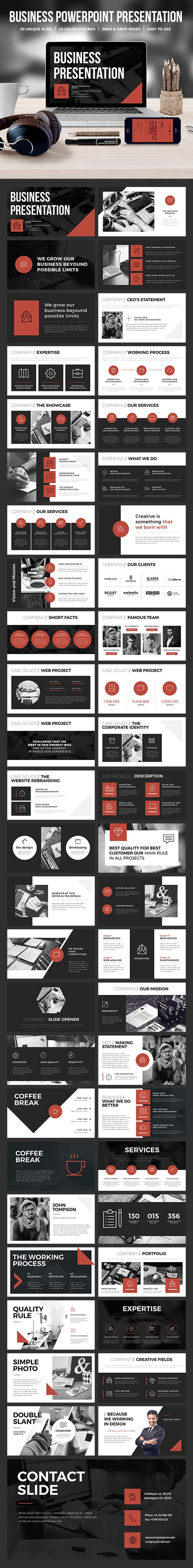 Business Powerpoint Template  Business Powerpoint Templates