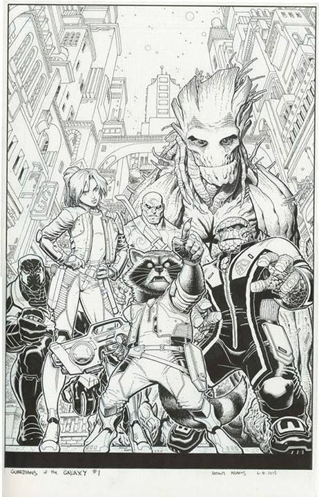 Guardians of the Galaxy #1 by Arthur Adams *