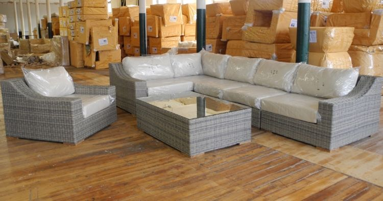 Corsica Sectional With Chair | Madbury Road