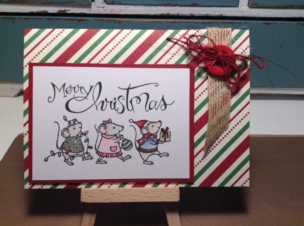 Stampin Up Merry Mice stamp set