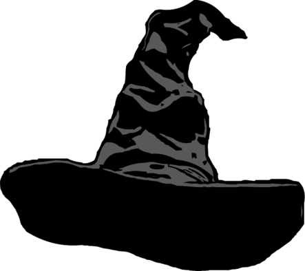 Sorting Hat The Craft Chop Harry Potter Silhouette Harry Potter Clip Art Harry Potter Sorting Hat