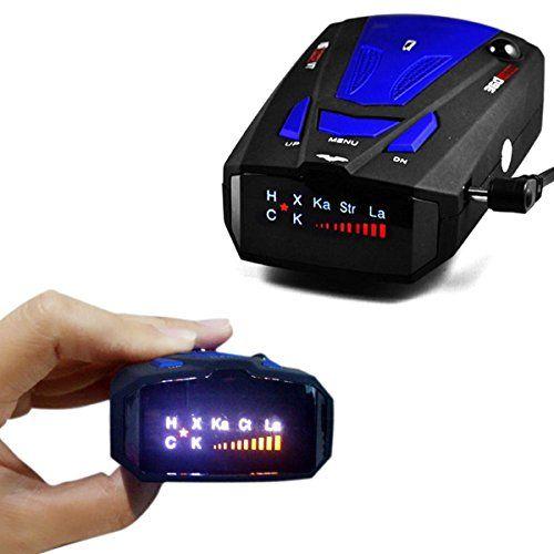 Radar Detector Voice Alert And Car Speed Alarm System With 360 Degree Detection Radar Detectors For Cars Upgrade For Radar Detector Alarm System Detector