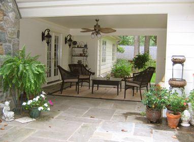 Dejo con una diversidad de fotos de como decorar los for Decorar patio exterior