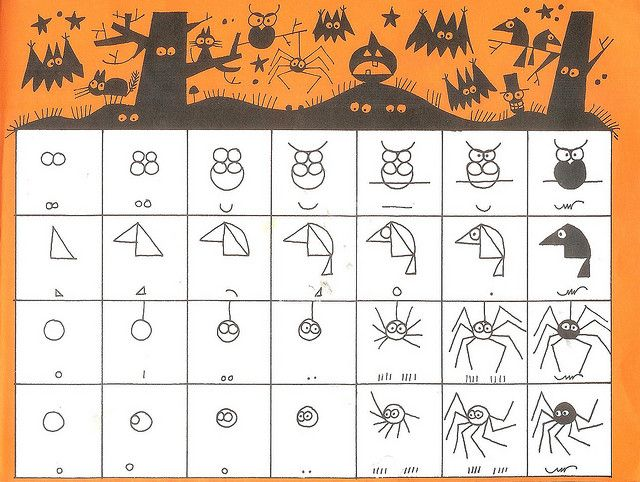 ed emberley's halloween drawing book (21)   Flickr - Photo Sharing!