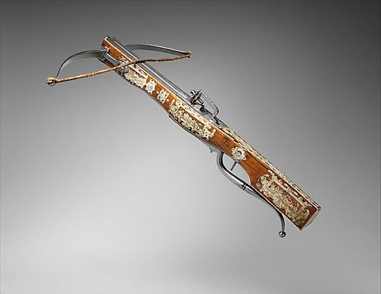 AD 1570-1600 Netherlandish or German Pellet Crossbow Combined with