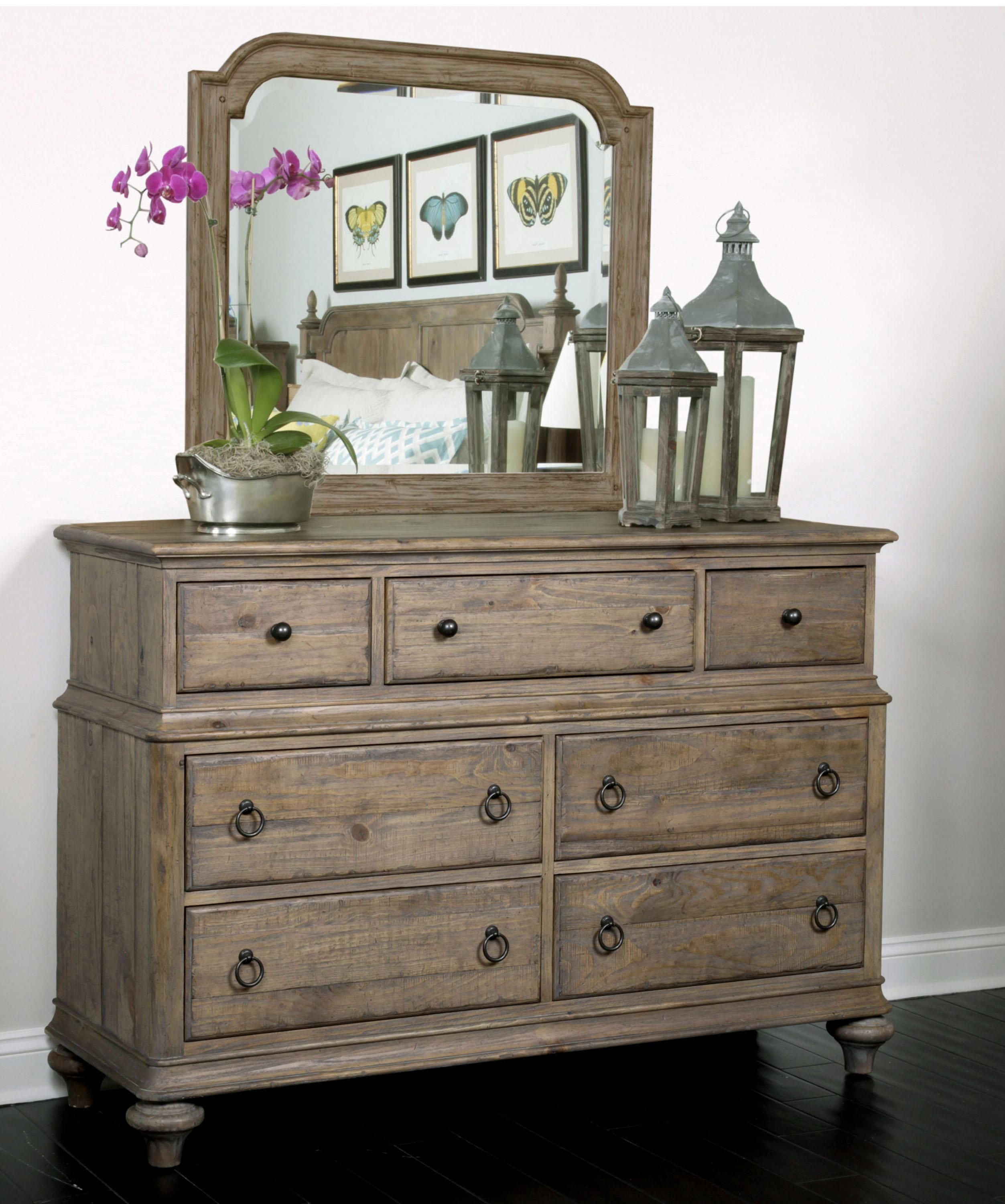 Weatherford Dresser And Mirror Combo By Kincaid Furniture