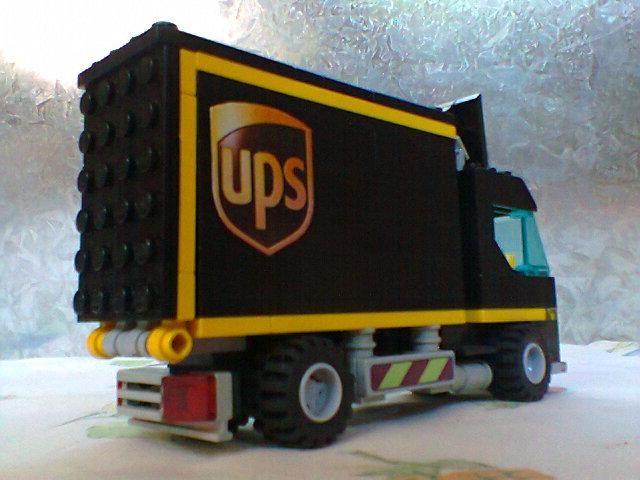 LEGO UPS Truck   UPS   Pinterest   Lego, Legos and Lego vehicles