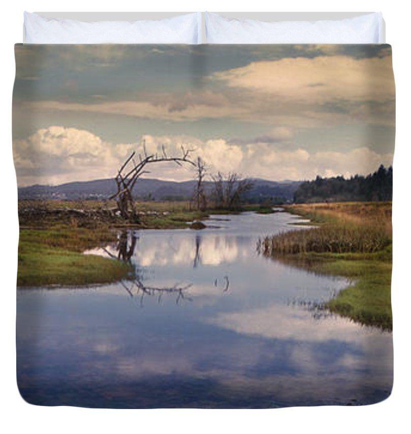 """Swamp King (104"""" x 88"""") Duvet Cover"""
