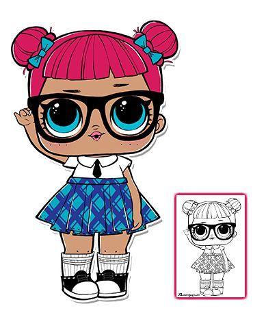 lol surprise doll malvorlagen - seite 5 - color your