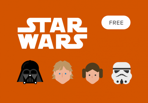 Top 10 Free Star Wars Vector Icon Sets Hipsthetic Star Wars Icons Icon Set Vector Star Wars Cartoon