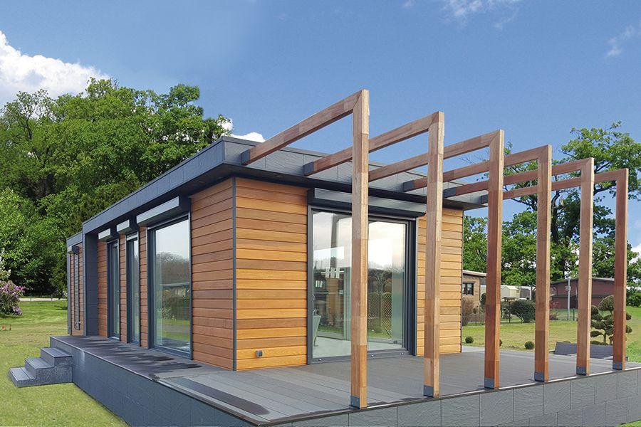 St lucia typ a hgb mobilheime kleinhaus bauen in 2019 for Holzhaus kleinhaus