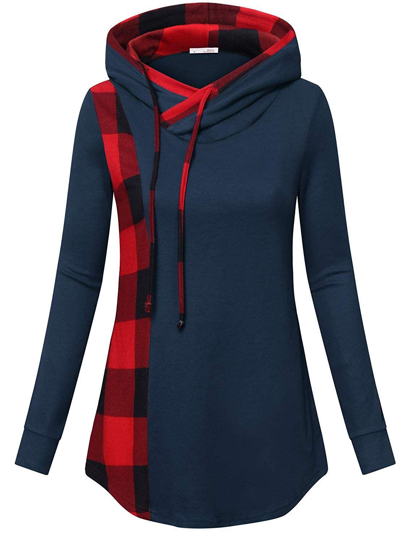 dc5ee5f9e2a5ef Amazon.com  Messic Tunic Sweatshirts for Women Plus Size