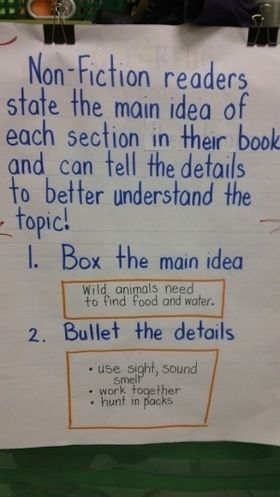 Informational Reading Eighth Grade: Central Ideas and Summarizing (Common Core Standard 8.RI.2)