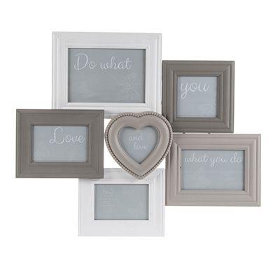 Grey/White Multi Frame | Frames | Pinterest | Neutral color scheme ...