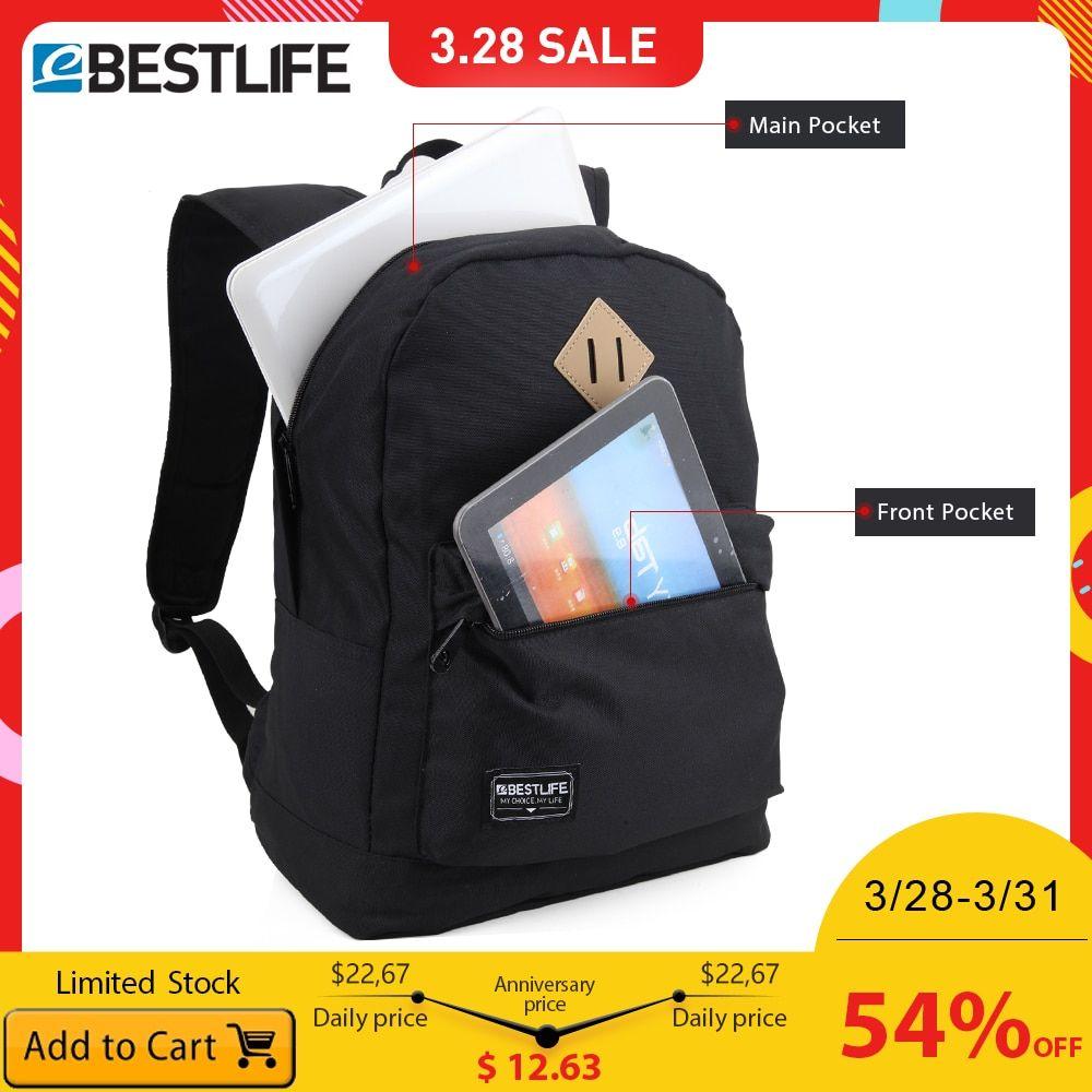 3ab838127433 BESTLIFE Backpack for Men Women 14.1 Inch Laptop Bags Boys Girls ...