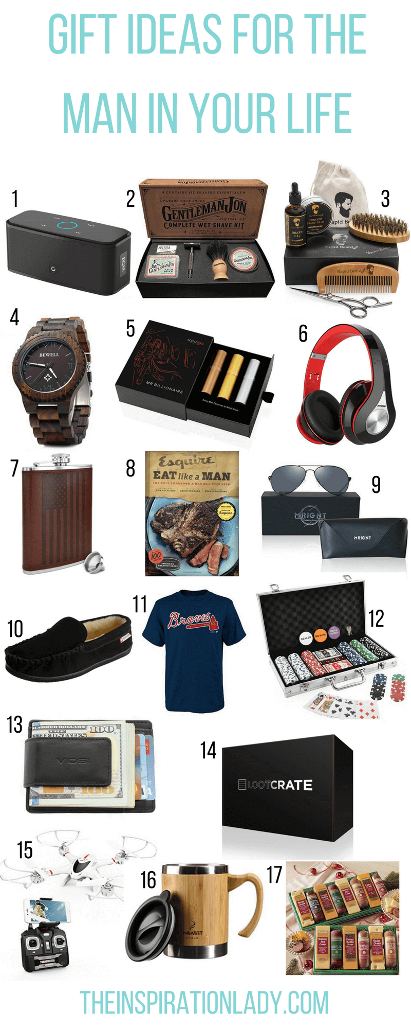 21 Affordable Gift Ideas For Him The Inspiration Lady