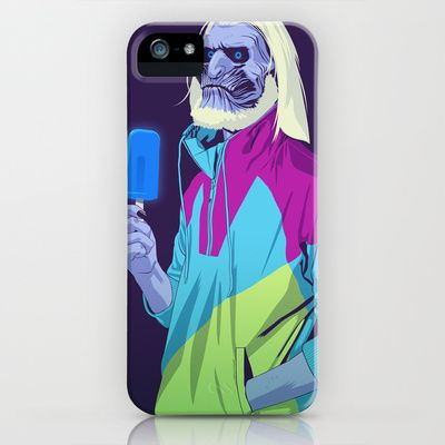White Walker 90s Style Game of Thrones iphone case