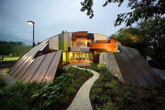 Genial Crazy Houses | McBrideu0027s Experimental House Design In Hawthorn 1